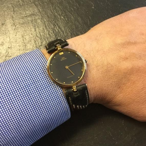 Vintage gold Swiss Glycine watch, ladies watch,gen