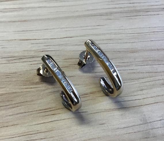 Diamond hoop earrings,hoop earrings,diamond earrin