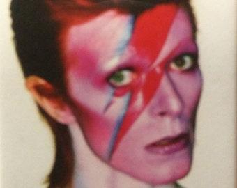 David Bowie Ziggy Stardust Fridge Magnet 2 x 3 inch