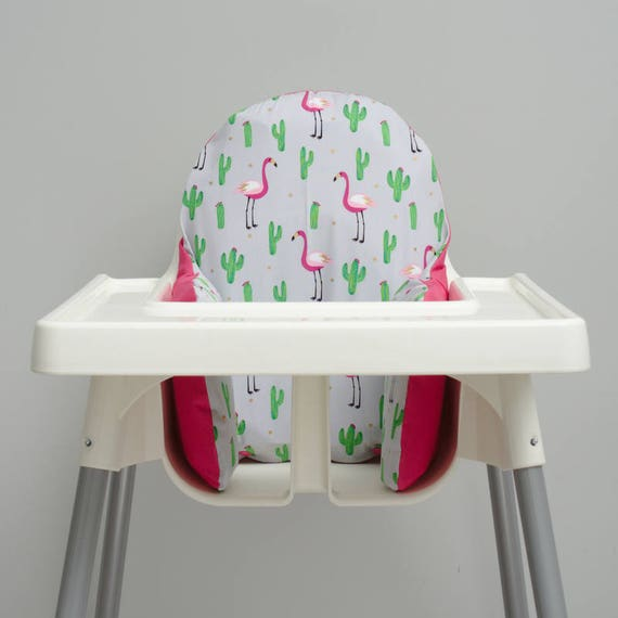 Brilliant Flamingo Cactus Ikea Antilop Cushion Cover Ikea High Chair Cover First Birthday Decoration Cactus Nursery Decor Black Friday Sale Baby Caraccident5 Cool Chair Designs And Ideas Caraccident5Info