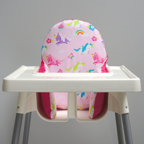 Pleasant Unicorn Ikea High Chair Cover Ikea Antilop Cover Highchair Cover High Chair Cushion Insert Unicorn Party Decorations Trending Baby Item Caraccident5 Cool Chair Designs And Ideas Caraccident5Info