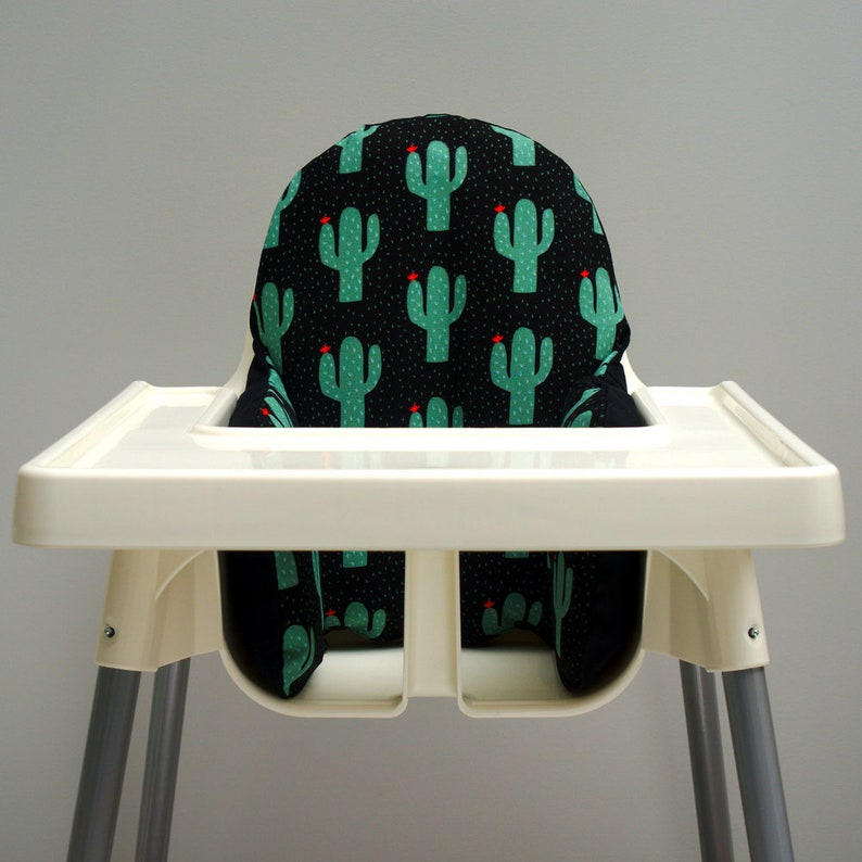 First Fiesta Birthday Cactus Decor Baby High Chair Cover image 0