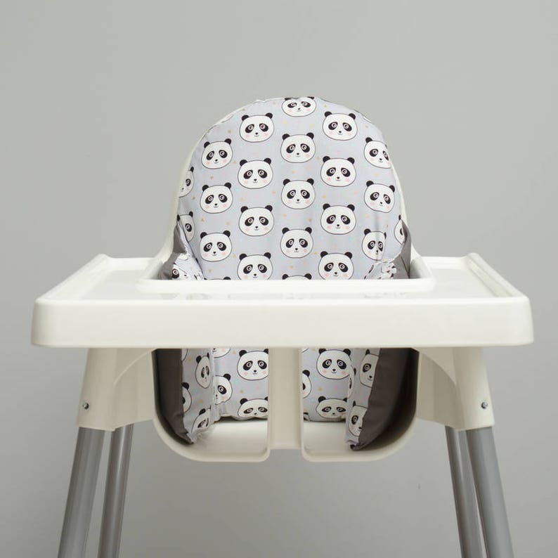 Panda Ikea High Chair Cover Ikea Antilop High Chair Cushion Cover Pillow Slipcover High Chair Pad With Or Without Cushion Ikea Pyttig