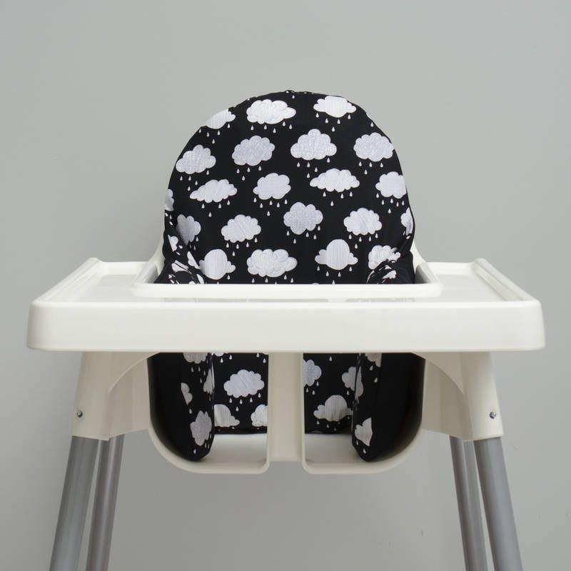 black clouds nursery ikea antilop highchair cover high. Black Bedroom Furniture Sets. Home Design Ideas