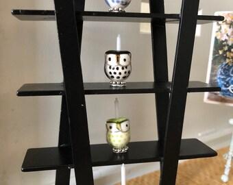 Owl candlestick