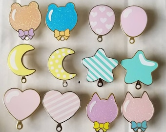 Balloon Enamel Pins