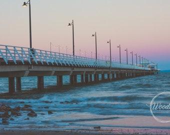 Ocean Photography, Ocean Landscape, Beach Decor, Clouds, Travel Print, Landscape Photography, Wall Art, Fine Art Photography