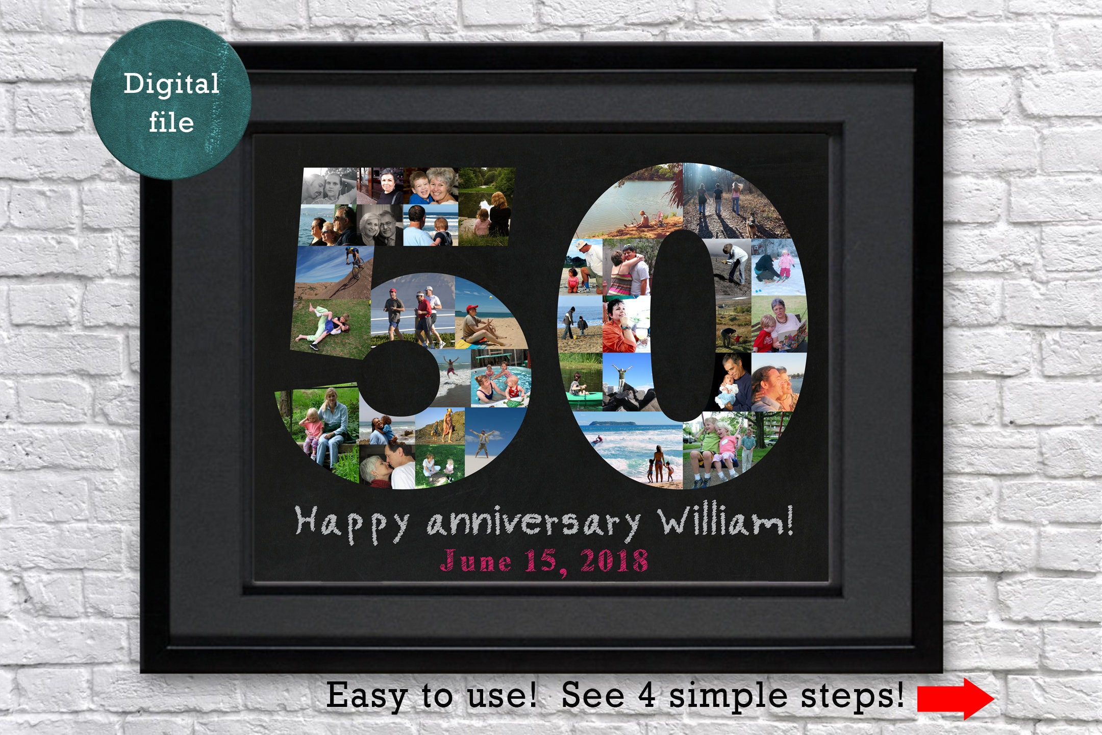 50th Anniversary Gifts For Parents Birthday Gift Ideas
