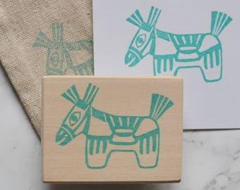Japanese horse stamp