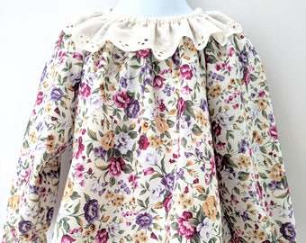 Autumn Flower Dress with matching Bloomers