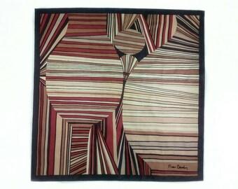 Pierre Cardin, silk scarf, women's accessories.