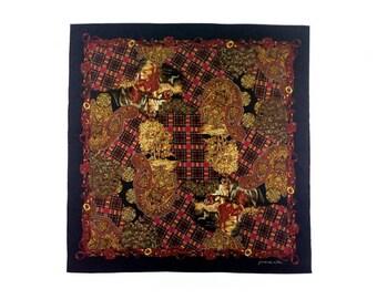 Fiacre d'or de Paris, silk scarf, women's accessories.