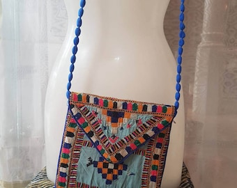 Ethnic bag with embroidery