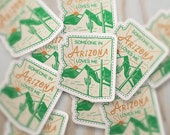 Someone in Arizona Loves Me Sticker, AZ Souviner, Phoenix, Scottsdale, Tucson, Cactus, Waterproof Vinyl Stickers for Hydroflask S-336