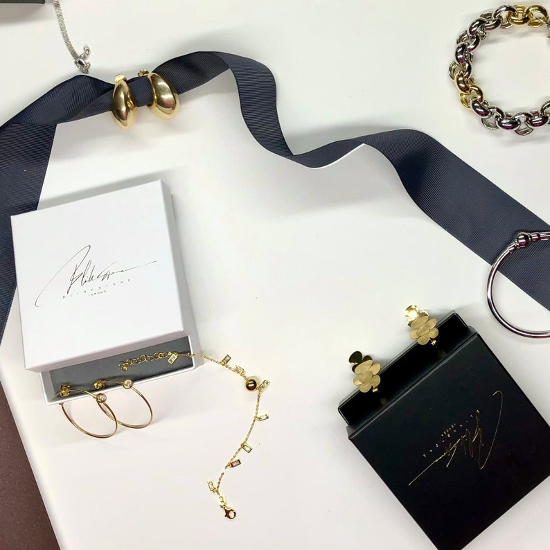18k Gold Plated Silver Long Bubble Necklace Silver Necklace Long and Elegant Design Gift for Her 925 Sterling Silver Made in Italy