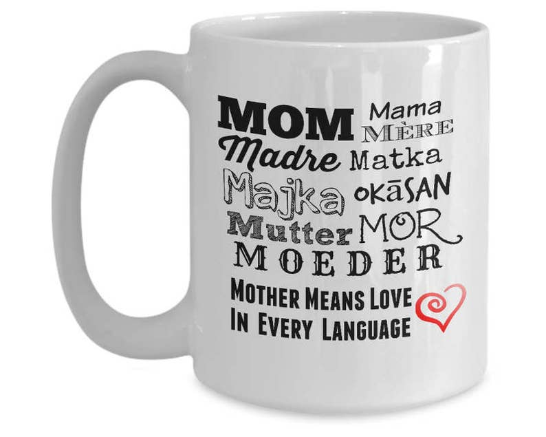 Best Mothers Day Mug Gift For Mom From Daughter Or From Son Is image 0