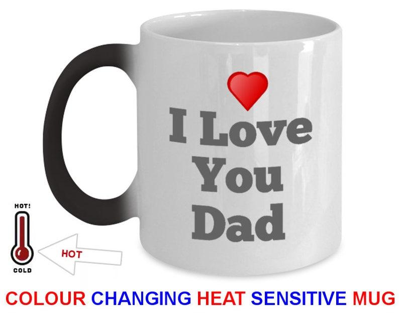 Fathers Day Mug Dad Gift Color Changing Mug Magic Mug Perfect image 0