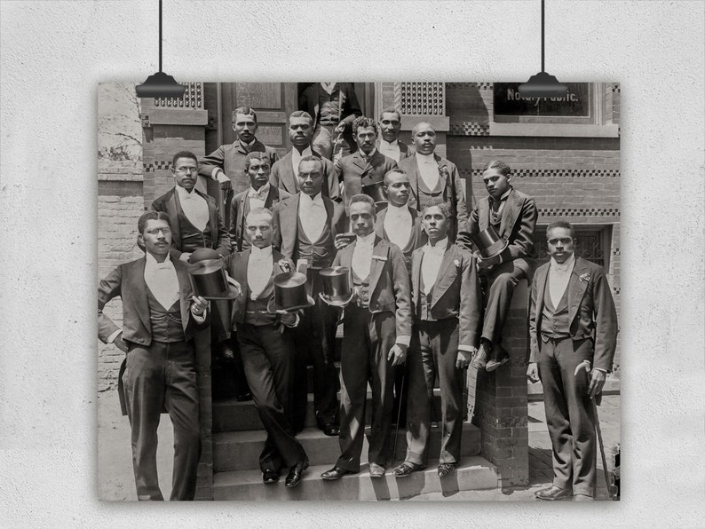 Class Photo Howard University Circa 1900 African American  c90315c26b