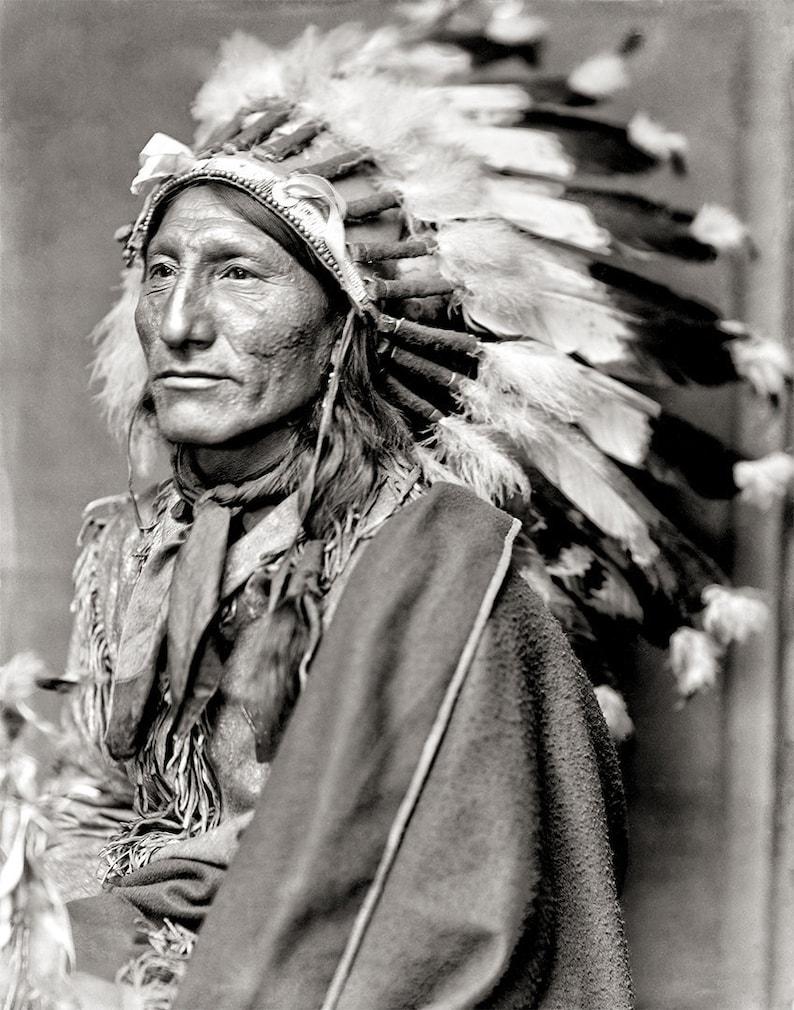 Native American Photo Indigenous Americans Dakota Indian image 0