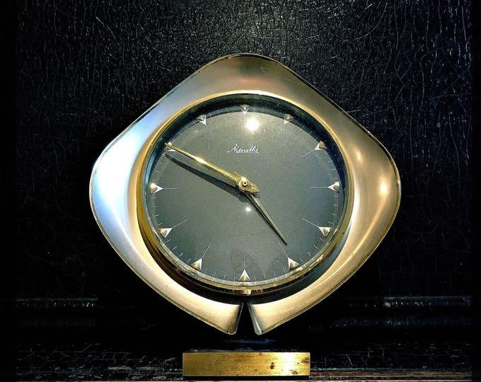 Vintage Mauthe Clock | Windup Clock | Table Clock | Mantle Clock | German