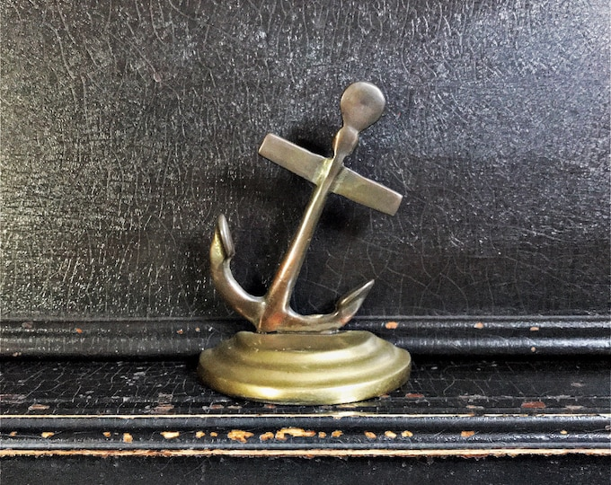 """Vintage Nautical Bookend 
