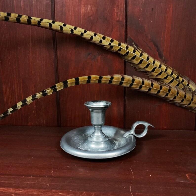 Vintage Candlestick Holder  Chamber Candle Stick Holder  image 0