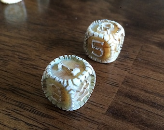 Engraved SKELETON Dice for Tabletop Gaming