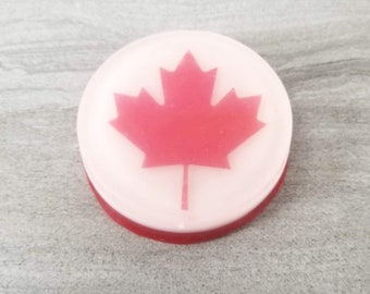 Maple Leaf Soap, Hand Washing, Canadian, Canuck Gift, Unique Party Favors, Sanitizing Novelty Soap, Decorative Printed Soap