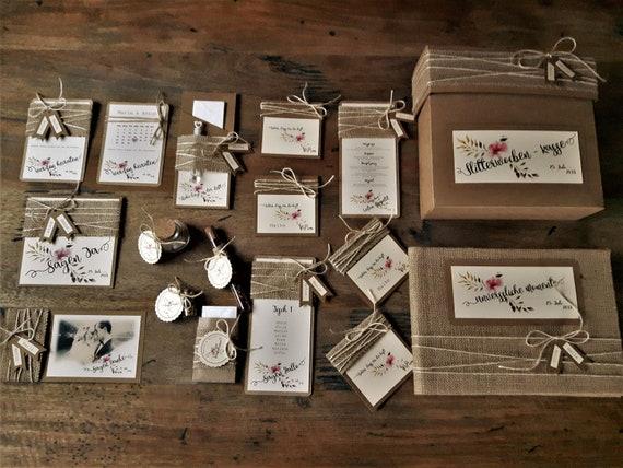 Platzkartchen Hochzeit Individualisiert Vintage Namensschild Etsy