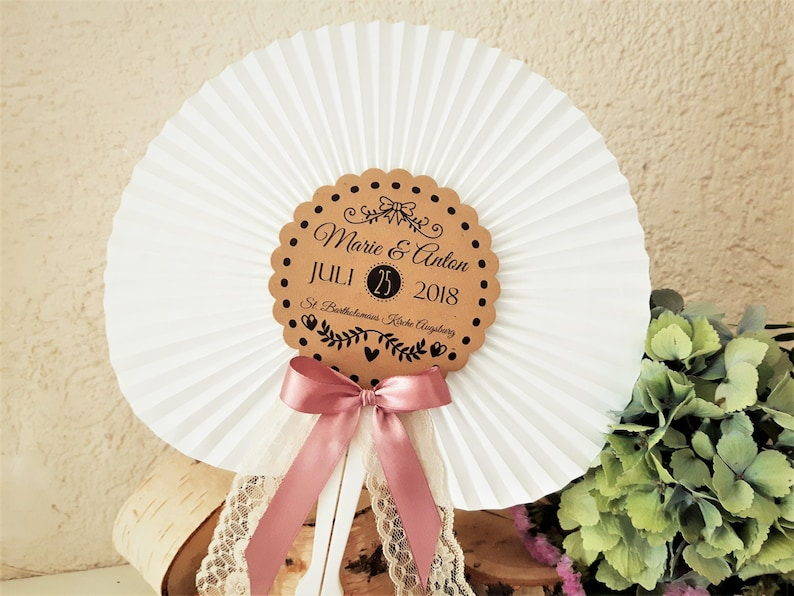 Fächer Hochzeit