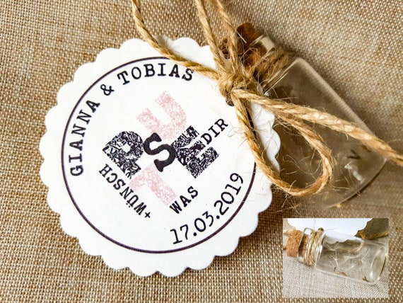 Gastgeschenk Hochzeit Vintage Boho With Name Personalised Guest Gifts Flower Seeds Wedding Guest Gift Pusteblume 2