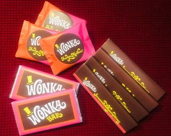 Willy Wonka Bars