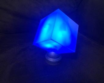 Tesseract Infinity Stone prop
