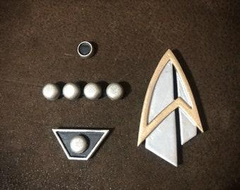 Star Trek Picard Badge & PIP sets