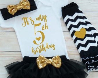 5th Birthday Outfit, Fifth Birthday Outfit Girl, 5th Birthday Girl Shirt, Birthday, Fifth Birthday Girl, 5th Birthday Girl, Birthday Girl