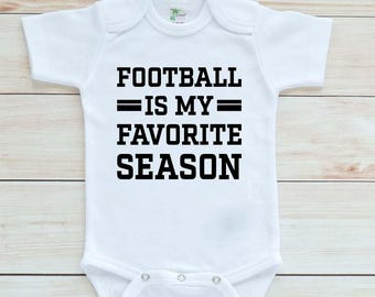 Football Baby Shirt, Baby Boy Bodysuit, Football Boy Bodysuit, Custom Boy Football Shirt, Daddys Football Buddy, Custom Baby Boy Shirt