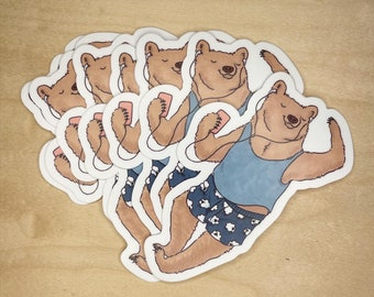 Dancing on my Own sticker