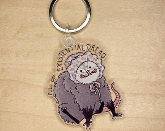Existential Dread keychain