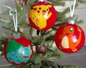 Pikachu ornament | Etsy