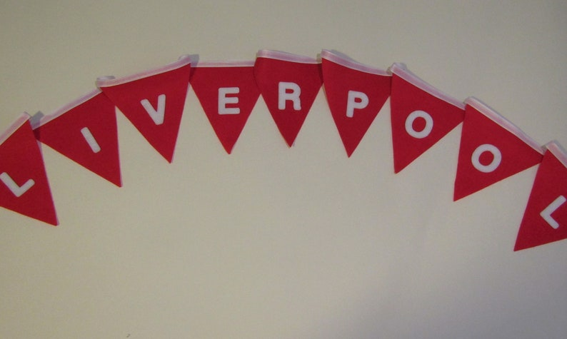 Football Fabric Bunting Banner Bedroom Party Decoration CHELSEA  CHRISTMAS Gift