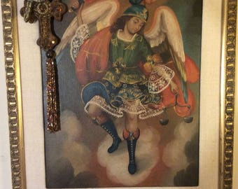 Angel-Antique reproduction painting