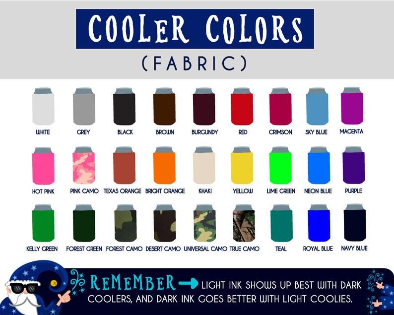 Bachelorette101 The final Strut Collpasible Fabric Bachelorette Can Cooler Double Side Print
