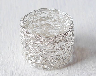 Silver Ring Ring Silver wire Ring