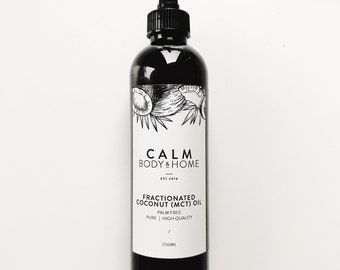 Fractionated Coconut Oil - 250ml ideal as essential oil carrier