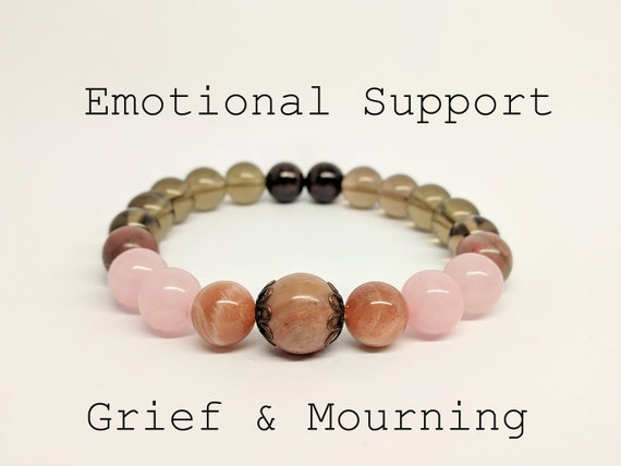 Bereavement Gift Grief Bracelet Grief Gift For Grieving Mother Etsy