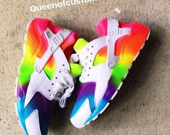 4c907c0fea0d49 Fruity Tooty Nike Huarache Custom