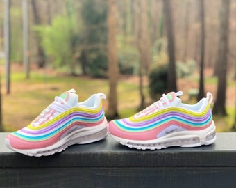 c72c8da4d9 Pastel Colors Nike Air Max 97 Custom (PLEASE READ)