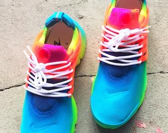 Splash of fun Nike Presto Custom ( PLEASE READ) description