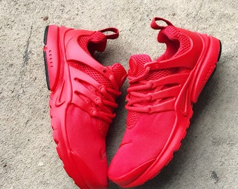 Fire Red Nike Presto Custom (Limited Sizes)