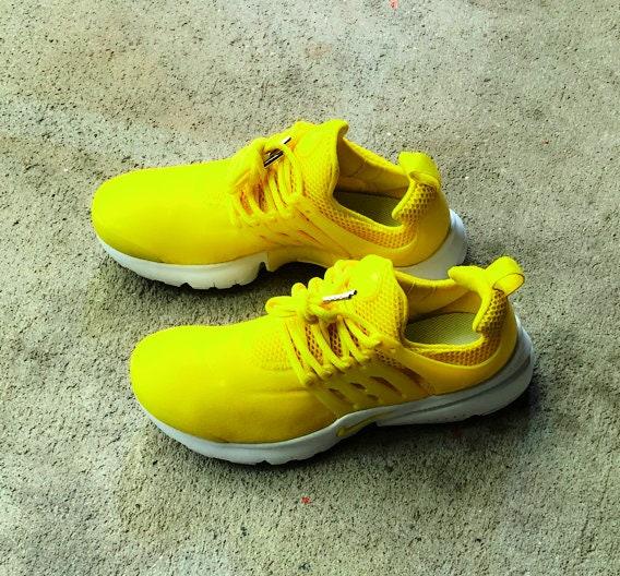 4fdb00c95bd4 Lemon Zest Nike Presto Custom. 1